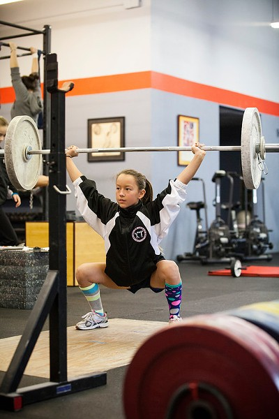 FORESIGHT Maya Uemura, 12, is thinking decades ahead when it comes to staying fit.
