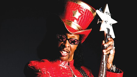 FOURTH-STRING SANTA Even Bootsy Collins has a Christmas album.