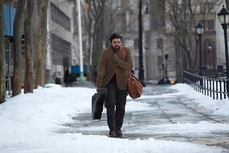 FREEWHEELIN' Oscar Isaac plays a folk singer in this film loaded with soul.