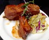 Glazed ribs at Zodiac's