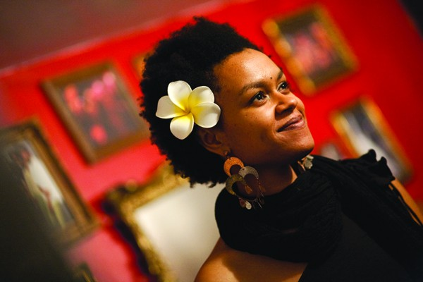 GLOBAL GAL Jazz singer Meklit Hadero plans to travel through Africa on a boat of recycled plastic.