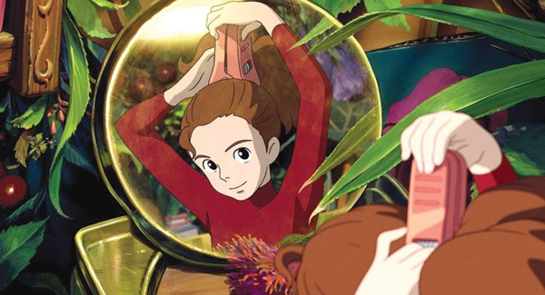 GO GET 'EM Arrietty is yet another of Miyazaki's strong role models for young girls.