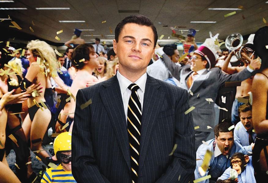GOLDEN BEAR Leonardo DiCaprio channels Jack Nicholson in Scorsese's newest.
