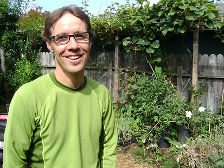 GROWING GREEN Trathen Heckman founded Daily Acts to develop community-scale environmental activism. - TOM GOGOLA