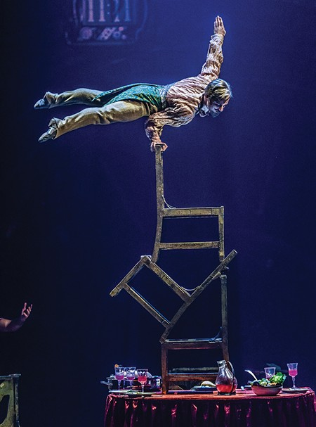 HIGH CHAIR ACT Cirque du Soleil's new show is its 35th in 30 years.