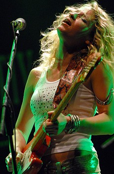 HISTORY MAKER When Ana Popovic came to the U.S. 10 years ago, it was hard to be a Serbian woman playing the blues.