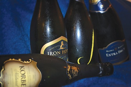 HOW DRY I AM Ultra brut sparkling wine is the driest of the dry. - JAMES KNIGHT