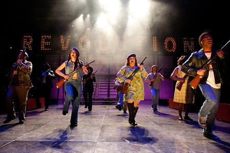 IN THE AIR 'Party People,' running at the Oregon Shakespeare Festival, looks at the Black Panther party.