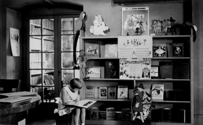 'IT'S THE RECESSION' Is it? Even during the Great Depression, children like Carmen Finley, above, had daily access to the library. - COURTESY SONOMA COUNTY LIBRARY HISTORY ANNEX