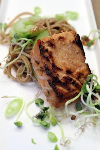 Japanese style roasted salmon by John Ash