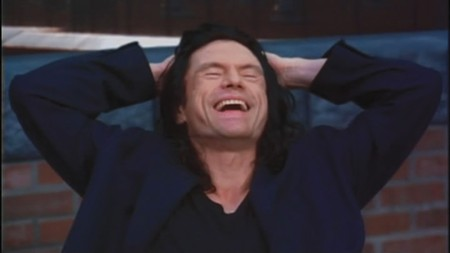 LAST LAUGH Tommy Wiseau's cult film screens monthly in cities nationwide.