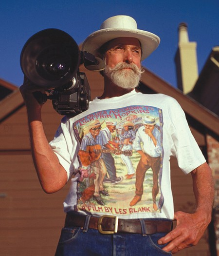 LES IS MORE Documentarian Les Blank's films ranged far and wide. Blank Slate