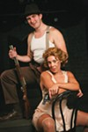 <b>LIVE FAST, DIE YOUNG</b> Taylor Bartolucci is Bonnie and James Bock is Clyde in, yes, 'Bonnie & Clyde.'