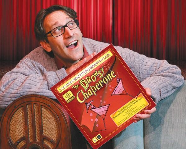 LONG PLAYER Jeff Coté with his fictitous soundtrack album.