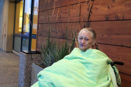 Lorraine Robles waited over 24 hours for bread