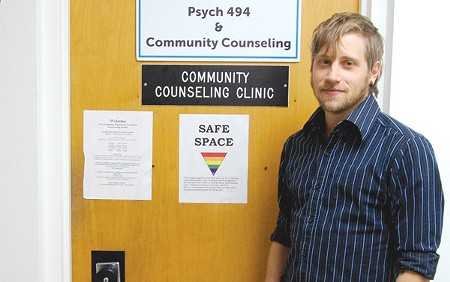LOSING SERVICES As Santa Rosa gets a much-needed psychiatric facility, Christopher Bowers laments the imminent closure of SSU's Community Counseling Clinic, where he works. - MARIA TZOUVELEKIS