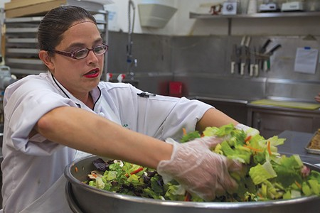 LUNCH BUNCH The Jackson Café is staffed by formerly homeless. - JOSEPH BANKOFF