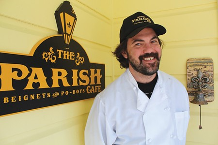 MAMA'S RECIPES Former charter boat captain Rob Lippincott shakes up the usual tourist offerings in Healdsburg. - NICOLAS GRIZZLE
