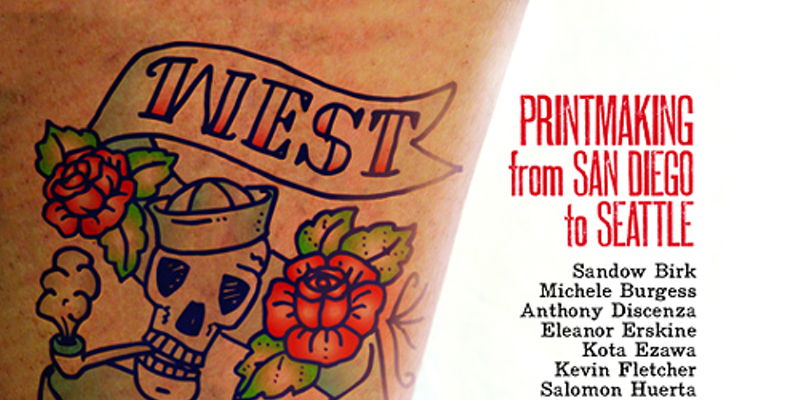 March 13: West Coast Ink: Printmaking from San Diego to Seattle at Sonoma University Art Gallery