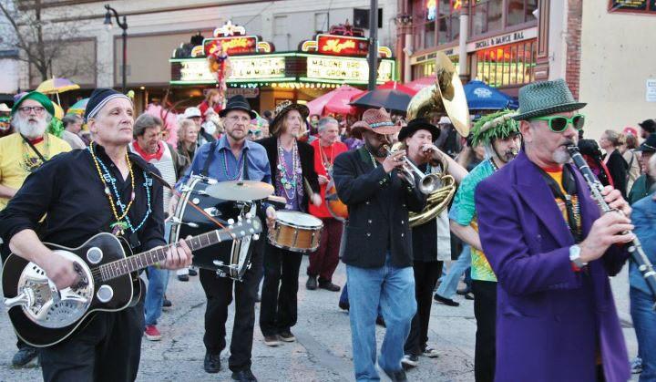 MARCHIN' IN Rhythmtown-Jive return to the Mystic Theatre in Petaluma.