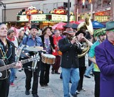 Mardi Gras at the Mystic