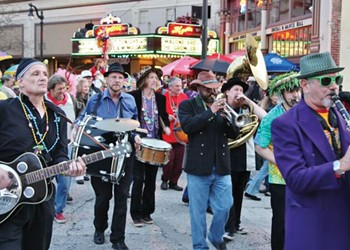 Mardi Gras at the Mystic