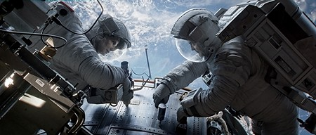 MISSION OUT OF CONTROL Sandra Bullock and George Clooney star in 'Gravity,' Alfons Cuaron's tense drama about a spacewalk gone awry.