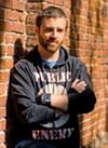 <b>MUSIC MAN</b> 'I like creating a more vibrant scene,' says Jake Ward.
