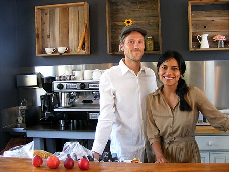 NAKED LUNCH After building a name for their farmers market fare, Jason Sakach and Dalia Martinez opened Naked Pig. - FLORA TSAPOVSKY