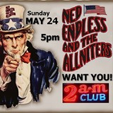 Ned Endless and the Allniters at the 2am Club this Sunday.