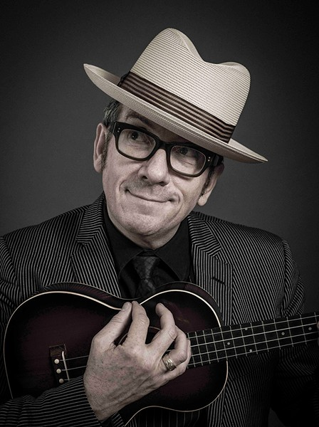 NO IMPOSTOR Elvis Costello plays the Green Music Center for the first time.