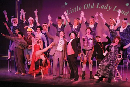 NOISES ON Despite a committed, energetic cast, Sixth Street Playhouse's 'Producers' suffered problems with pacing.