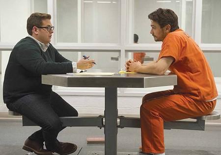 NOT SO FUNNY Jonah Hill and James Franco aim for gravitas in new Rupert Goold film.