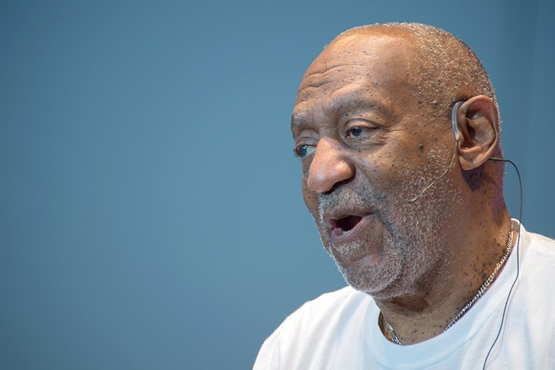 NOT SO FUNNY Questions about drugging and sexually assualting women continue to hang over Bill Cosby. - RANDY MIRAMONTEZ