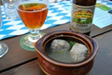 JESSIE JANSSEN - OCTOBER FEAST Sierra Nevada's Vienna lager goes well with potato dumplings with sweet walnuts and dill.