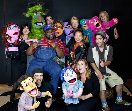 OH NO YOU DIDN'T 'Avenue Q' is a puppet show for adults.
