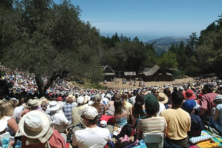 ON TOP OF THE WORLD The Mountain Play has been offering drama, revues and stellar views on Mt. Tam since 1913.