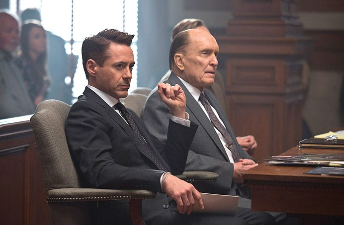 ONE ANGRY MAN There is Oscar chatter around Robert Downey Jr.'s performance in this courtroom drama.