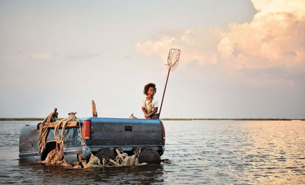 PICKUP GAME Eight-year-old Quvenzhané Wallis steals the film as Hushpuppy.