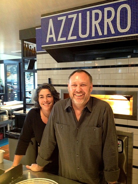 PIZZA, BURGERS, WHAT ELSE YA NEED? Christina and Michael Gyetvan also recently opened Norman Rose Tavern.