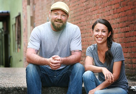 POISED TO POP Jeremy Whitcomb and Emma Uribe are the latest duo on the North Bay's rising pop-up restaurant scene.