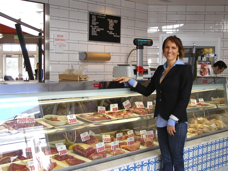 PRIME CUT Sure enough, Anya Fernald was once a vegetarian; now, at Belcampo, she aims to do meat right. - JAMES KNIGHT
