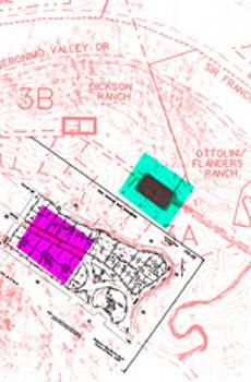 Proposed Woodacre Reservoir