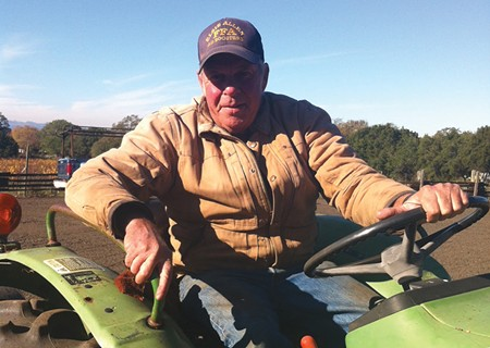 RAIN ON THE PLAIN 'We have to revamp the whole water system,' says farmer Rick Crane. 'It's time for something new.' - CINDY CRANE