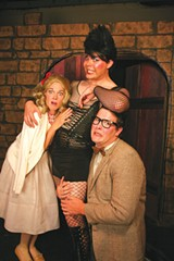 RIBALDRY ENSUES Sixth Street's cast doesn't mind being yelled at. - ERIC CHAZANKIN