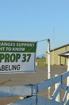 RIGHT TO KNOW The Sebastopol grange has seen membership soar, mirroring positive statewide trends—yet the California range master was suspended in August by the national grange, and many suspect it has something to do with Proposition 37.