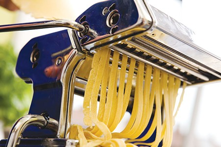SCARSA Pasta is easy to make, just be sure to add little bits of water at a time.