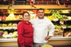 <b>SHARED PASSION</b> Octavio Diaz with mother Juana, who routinely travels to Oaxaca to buy ingredients for her famed mole.
