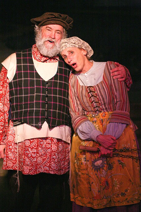 SHOWSTOPPERS Stephen Walsh and Elly Lichenstein shine in ' Fiddler on the Roof.'