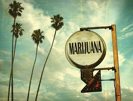 SIGN OF THINGS TO COME? Legalization activists say 2016 is the year California will join Colorado and Washington in full legalization of marijuana.